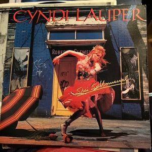 Vintage Cindy Lauper She's so Unusual vinyl 1983